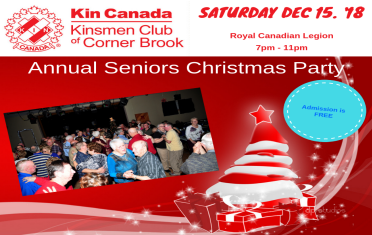 2018 Seniors Christmas Party